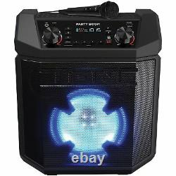Ion Party Boom 100W High-Power Rechargeable Speaker with Lights, Bass Boost