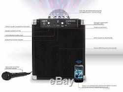 Ion Party Rocker Wireless Speaker System with Built-in Light Show (REFURBISHED)