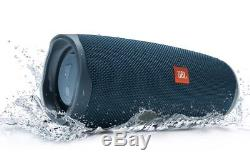 JBL CHARGE 4 Waterproof Portable Bluetooth Party Speaker Blue New & Sealed