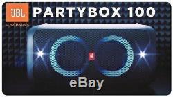 JBL Party Box 100 Portable Bluetooth Speaker Black PARTYBOX100