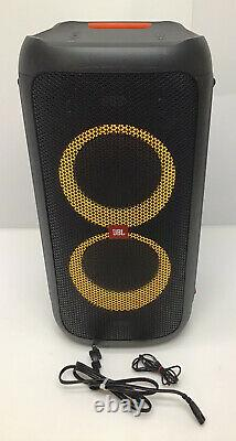 JBL PartyBox 100 Powerful Portable Bluetooth Party Speaker w Light Show Demo