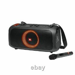 JBL PartyBox On-The-Go Portable Party Speaker with Built-in Lights and Wireless