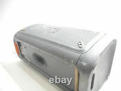 JBL Partybox 300 Portable Rechargeable Bluetooth Party Speaker. Has cracked