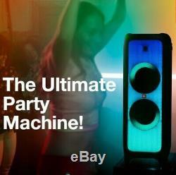 JBL partybox 1000 portable bluetooth party speaker lightshowith dj & karaoke-BLACK