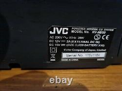 JVC Boomblaster RV-NB50 boombox Party Loud HiFi CD Ipod USB (16cm bass speaker)
