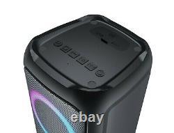 JVC Portable Bluetooth Party Box Speaker TWS Colorful music-sensitive LED lights