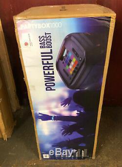 Jbl Partybox 1000 Bluetooth 1100w Megasound Party Wireless Speaker Usb Black