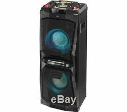 Jvc Mx-d528b Bluetooth Megasound Hi-fi Party Speaker System 200w Usb Fm Radio