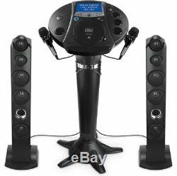 Karaoke For Adults Pedestal Singing Machine System Monitor Mics Bluetooth Party