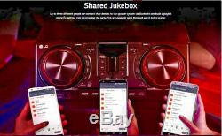 LG LOUDR XBOOM Stereo with 3 Speakers (CJ45) Karaoke Bluetooth Jukebox Party 720W