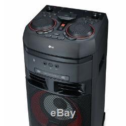 LG OK55 500W Bluetooth Party Speaker System with Karaoke & DJ Effects
