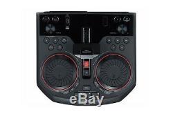 LG OK55 LOUDR Bluetooth Entertainment System Karaoke & DJ Effects Party Speaker