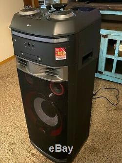 LG OK99 LG XBOOM 1800W Party Speaker System with Karaoke & DJ Effects