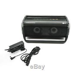 LG PK7 XBoom Go Water Resistant Wireless Bluetooth Party Speaker Black