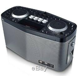 LG RK8 LOUDR Portable Karaoke DJ Boombox System Bluetooth Party Machine