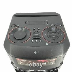 LG XBOOM RN5 Portable Party Bluetooth Wireless Speaker- Black