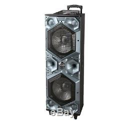 Large 15x2 Inch Bluetooth Speakers Portable Party Usb, Sd, Fm Radio, Mic Input