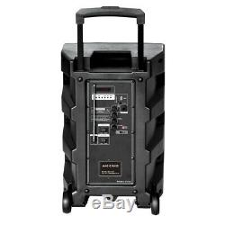 MagicBass MG-1201 Rechargeable Karaoke Party Speaker System with Bluetooth 3000W