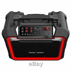 Monster Rockin Roller 4 Water Resistant 100W Bluetooth Party Tailgate Speaker