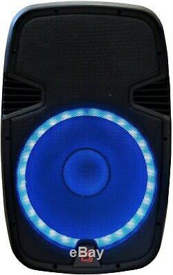 Mr Dj Pbx2690lb 15 3500 Watts Bluetooth Active Powered Pa Dj Party Speaker