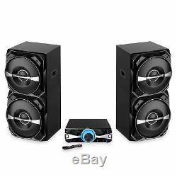 NEW BriteLite Edison Professional Party System 2500 Bluetooth Speaker System