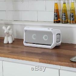 NEW LG PK7W XBOOM Go Water-Resistant Wireless Bluetooth Pool Party Speaker