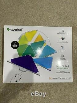 Nanoleaf Light Panels Smarter Kit Rhythm Edition 9 Panels + Rhythm