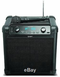 New Ion Block Rocker Max Bluetooth Speaker Karaoke Party Speaker Sound With Mic