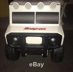 New in Box Snap On Tools RC truck party cooler with bluetooth speakers