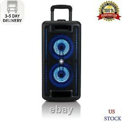 Onn. Large Party Speaker with LED Lighting Fast Shipping US