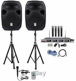 PA System Portable Stand Mount Bluetooth Party Speaker Singing Bluetooth Karaoke