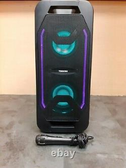 (Pa2) Toshiba Portable Wireless Rechargeable Party Speaker TY-ASC65