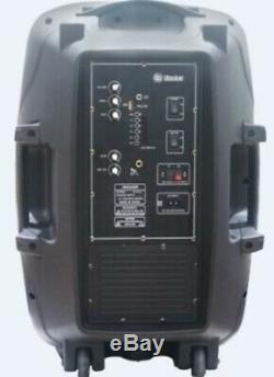 Party Speakers 1500W Bluetooth Portable Floor Dj Equipment Sound System karaoke