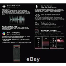 Pioneer CLUB5 XWSX50 Bluetooth Party Speaker Club Sound One-Box Audio System BLK