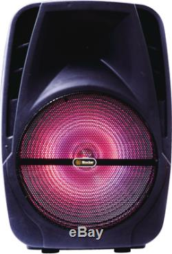 Portable Bluetooth Loudspeaker 15 Multi-function Powered Loud Speaker Party