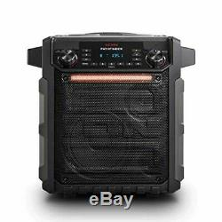 Portable Bluetooth Speaker AM FM Radio Microphone Water Proof DJ Party Stereo