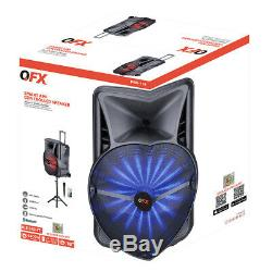 QFX PBX-118 18 Rechargeable Party Speaker with APP Control
