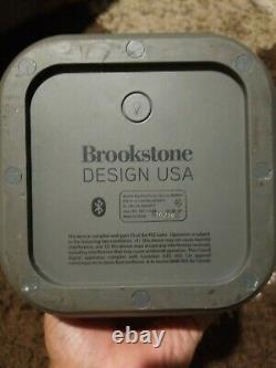 RARE Big Blue Party Speaker (brookstone) Charger Included