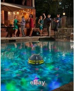 RYOBI 18-Volt ONE+ Floating Speaker Pool Light Show Bluetooth LED Lights Party