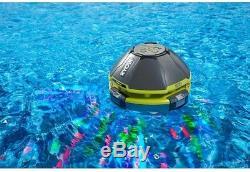 RYOBI Swimming Pool Floating LED Party Light Waterproof Bluetooth Speaker 18 V