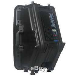 STARAUDIO 3500W 15 PA DJ Powered Active Bluetooth Speaker Karaoke Party Speaker