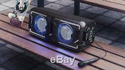 Sharp PS-920 150W High Power Portable Party Speaker with Bluetooth + Microphone