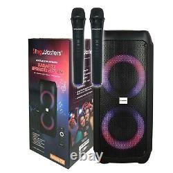 SingMasters PartyBox P30 Portable Bluetooth Party & Karaoke Speaker Wireless Mic