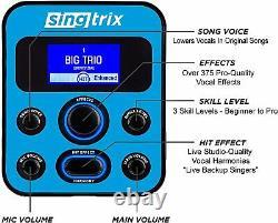Singtrix Party Bundle Stadium Edition Karaoke System SGTX2 Missing Mic Boom