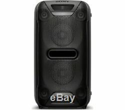 Sony Gtk-xb72 Wireless Megasound Party Speaker Black 470w Bluetooth Nfc New