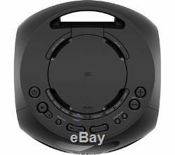 Sony Mhc-v02 Wireless Megasound Party Speaker CD Player Black Bluetooth Usb