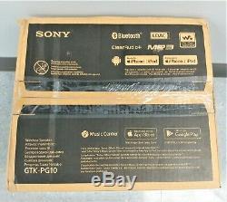 Sony PG10 Portable Wireless Bluetooth Party Speaker GTK-PG10 Black New Open Box