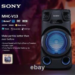 Sony V13 Bluetooth Party Speaker with Built-in CD Player