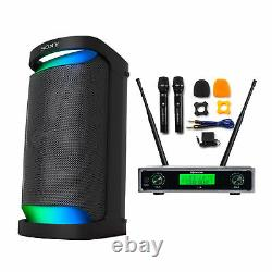 Sony XP500 X Series Portable Bluetooth Wireless Party Speaker with Dual Mic