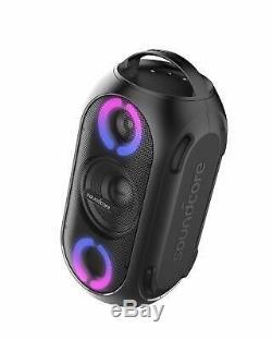 Soundcore AK-A3390Z11 Rave Mini Portable Party Speaker, Huge 80W Sound, Fully